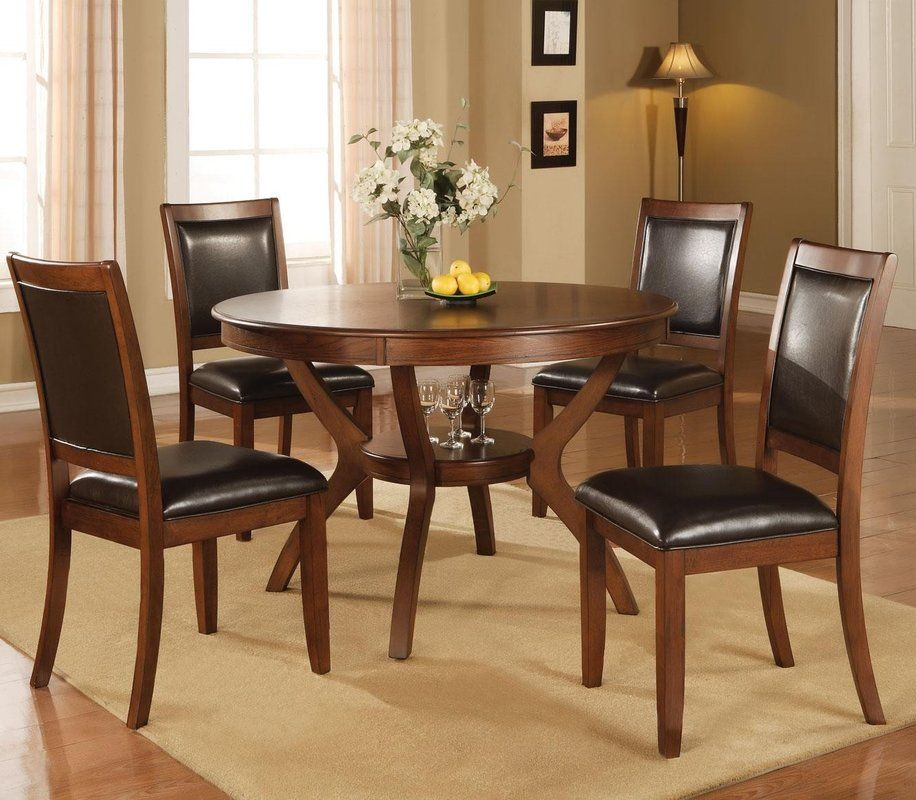 5 Piece Dining Set Dining Table In Kitchen Dining Table Dining Chairs