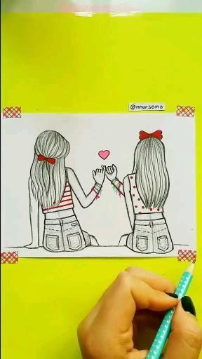 Bff drawing by nnursema 🥰