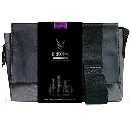 Axe Coffret Cadeau Sacoche Provocation Eau de Toilette Déodorant + Gel Douche pour Homme