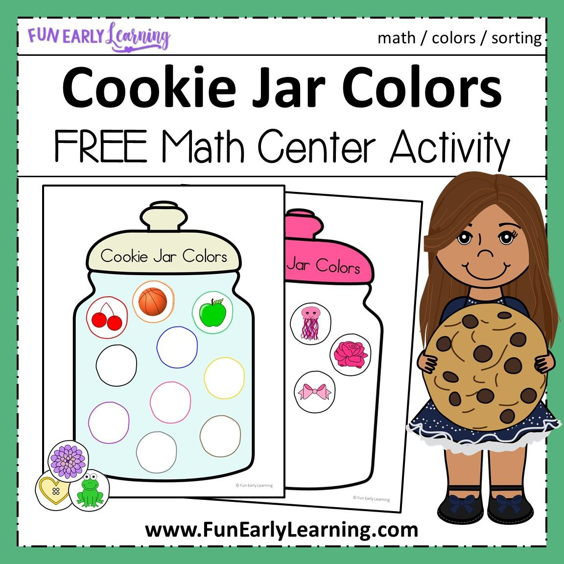 Cookie Jar Colors Activity With Images