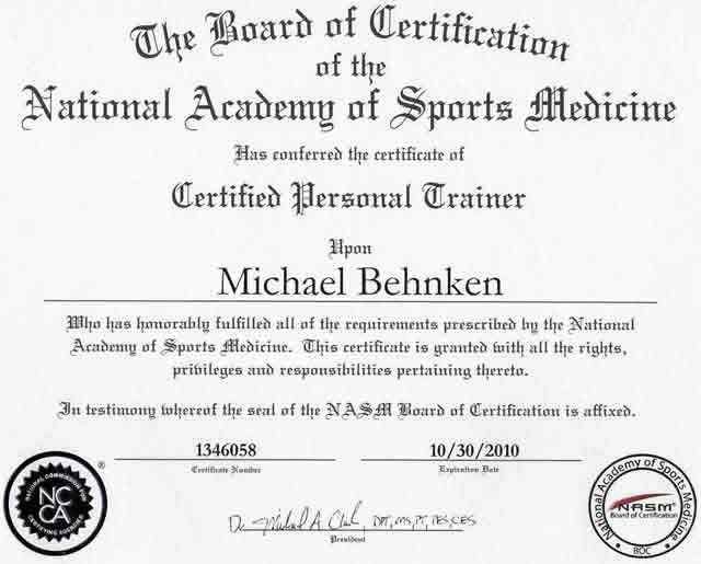 Find The Best Personal Trainer Certifications Get Certified For A