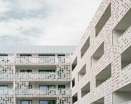 huttunen lipasti pakkanen perforates 3D facade for saukonpaasi project in helsinki