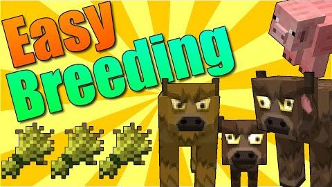 Image of: Pig Easy Breeding Mod 19181710 Easy Breeding Mod Adds The Ability To Breed Animals excepting Ocelots And Wolves By Tossing Their Breeding Food On The Pinterest Easy Breeding Mod 19181710 Easy Breeding Mod Adds The
