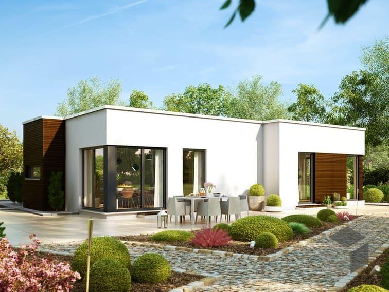 solution 87 v7 von living haus by bien zenker cubus haus flachdach casa in 2019 bauplan. Black Bedroom Furniture Sets. Home Design Ideas