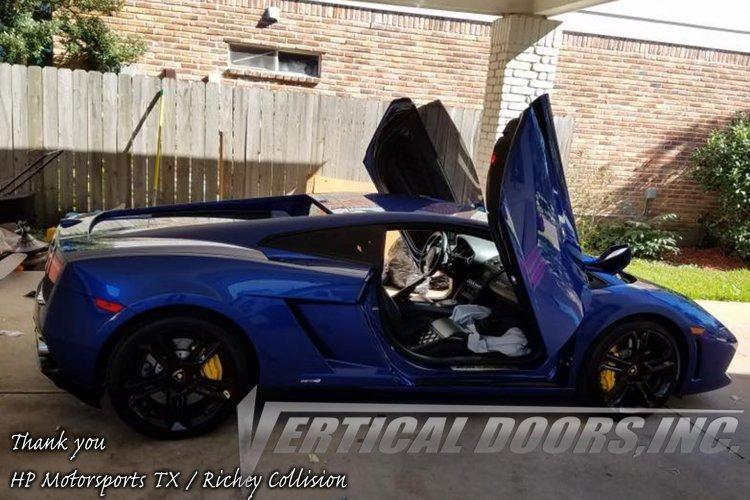 Lamborghini Gallardo 2003 2014 Vertical Lambo Direct Bolt On Door Hing Autobunch Lamborghini Gallardo Vertical Doors Lambo