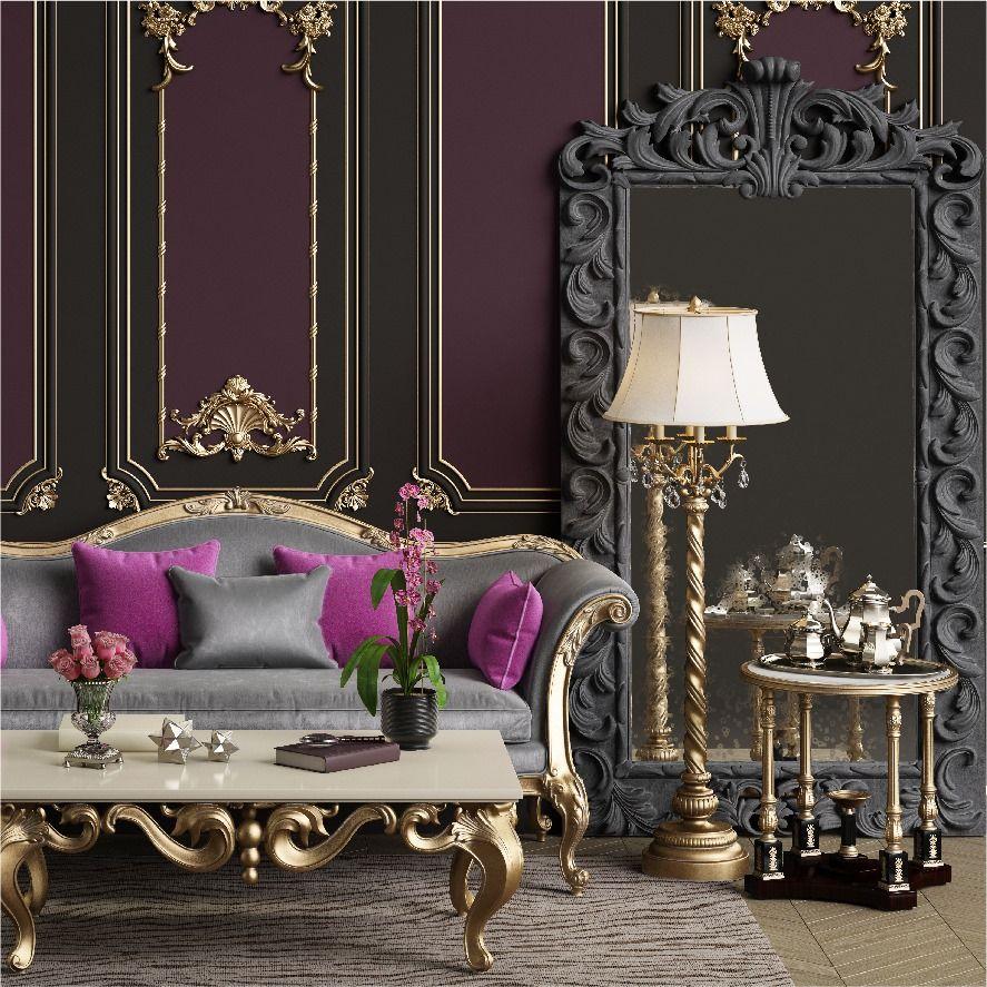 Avangart Mobilyalar In 2020 Lavender Living Rooms Classic Furniture Master Bedroom Colors