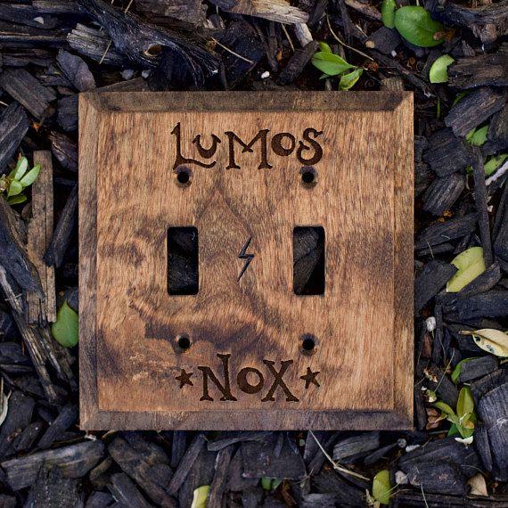 Harry Potter Light Switch Lumos Nox Light Switch Cover