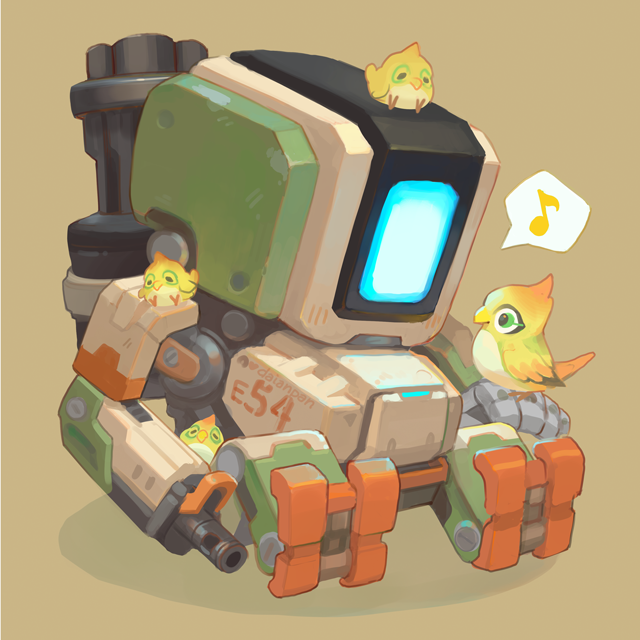 22 30 Bastion Overwatch Wallpapers Overwatch Drawings Chibi Overwatch