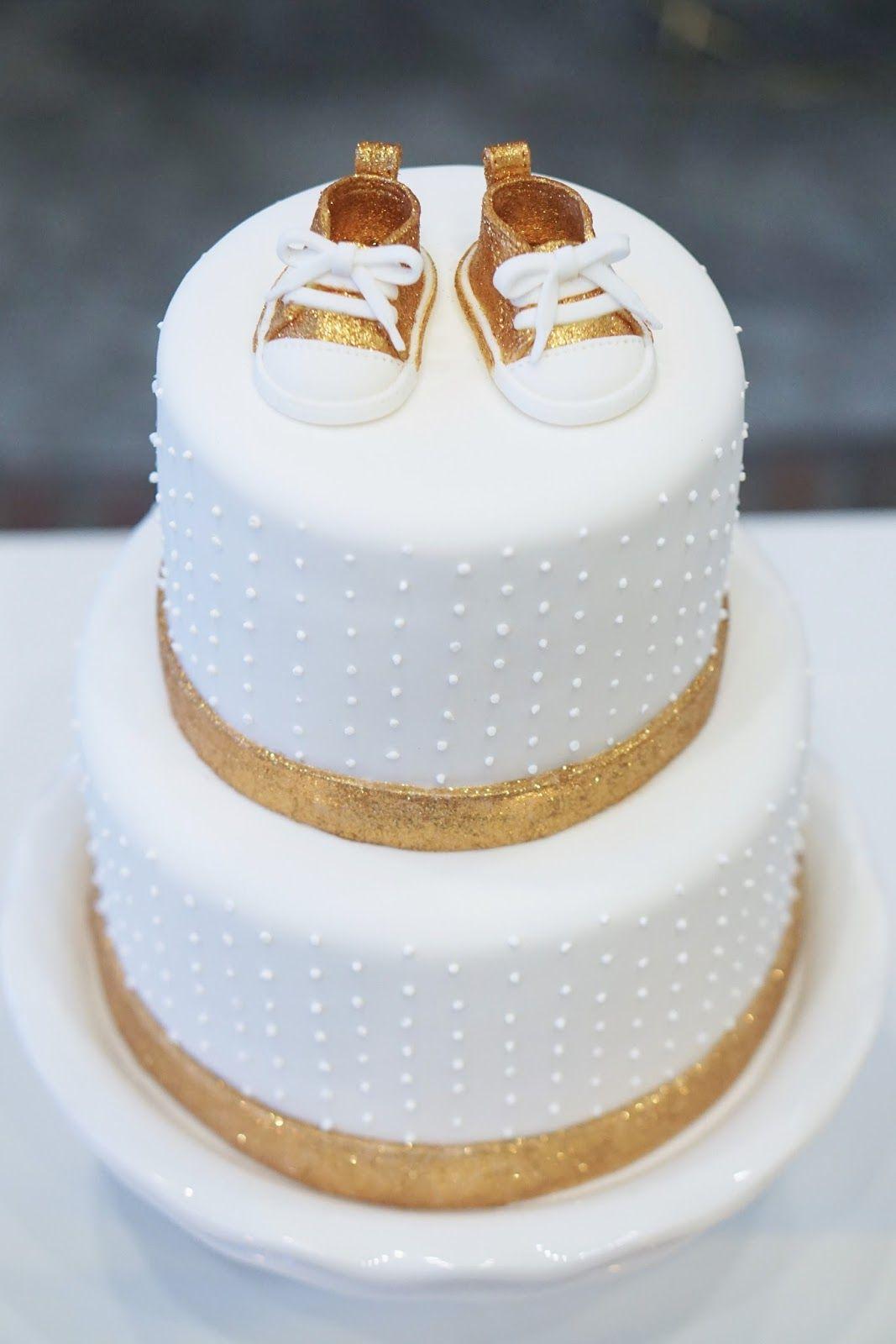 Carolina S Baby Shower Cake Gold Baby Shower Cake Unique Baby