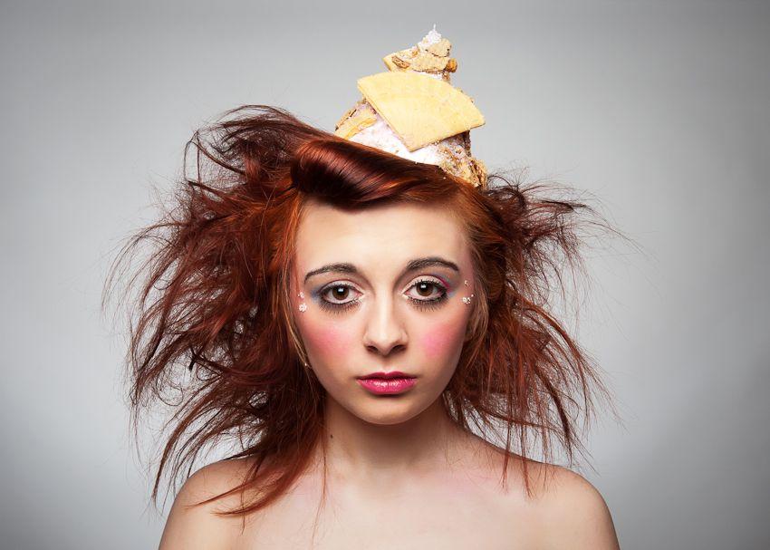 Ice Cream inspired makeup by Eloise Marsh Makeup Artist