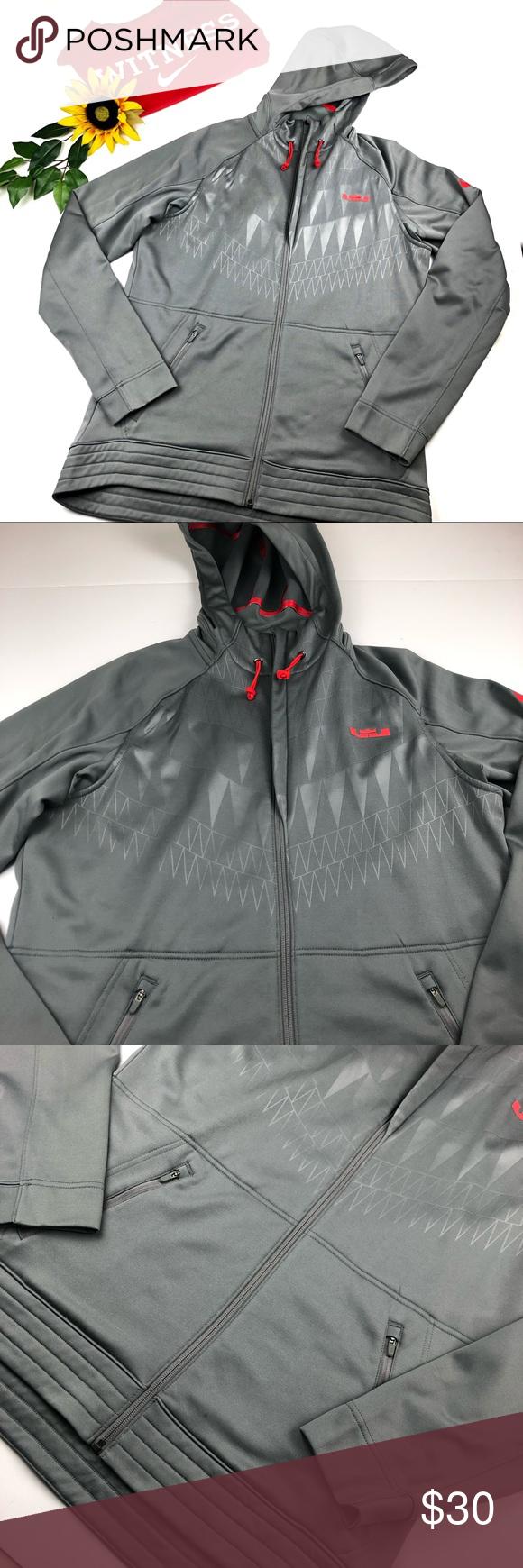 Sold Lebron James Nike Hoodie Men S Medium Gray Nike Hoodie Nike Hoodie Men Hoodies Men [ 1740 x 580 Pixel ]