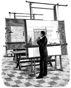 Teknisk ritning – Wikipedia