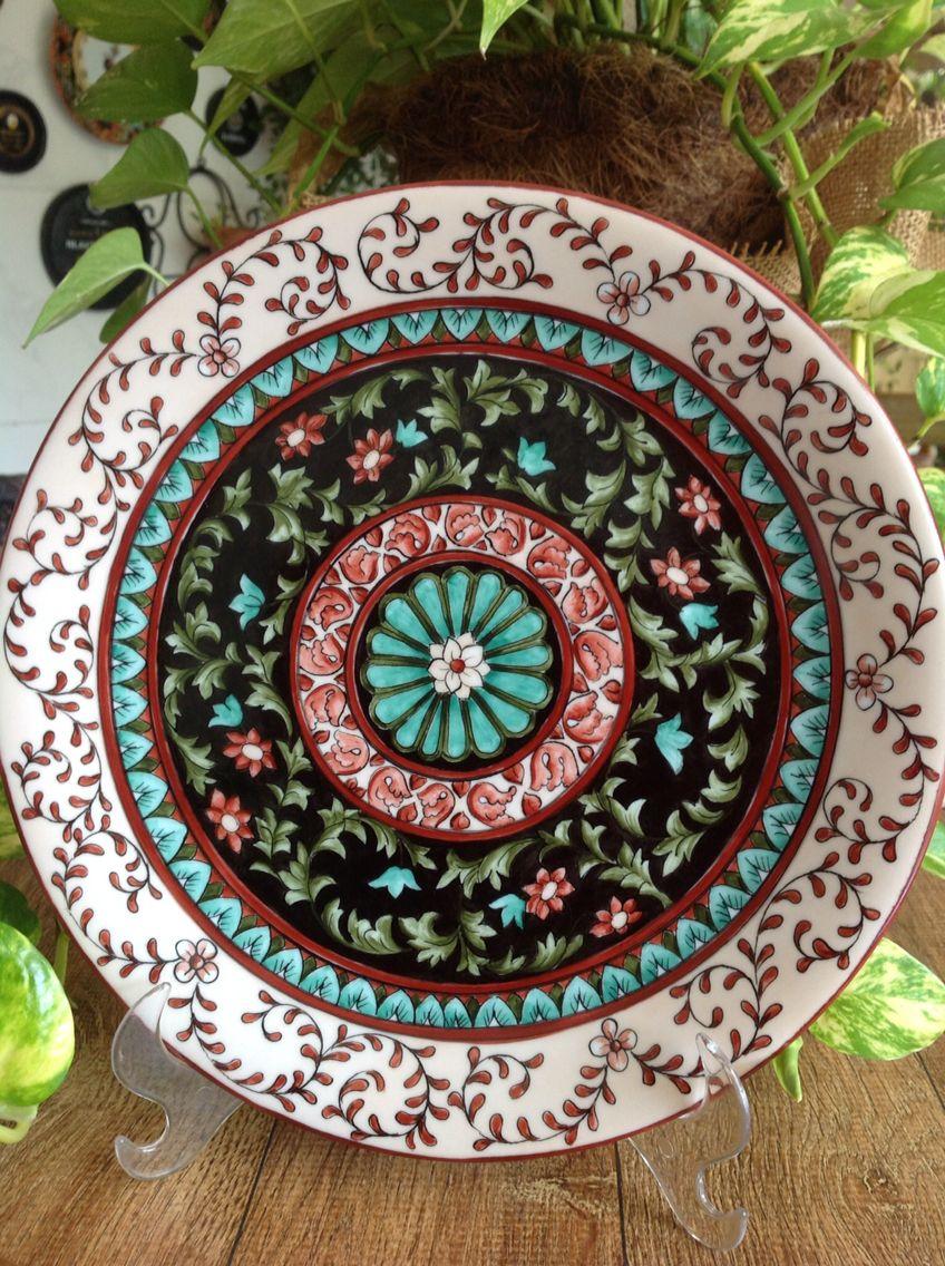 Trabalho feito por mim Porcelana pintada à mão