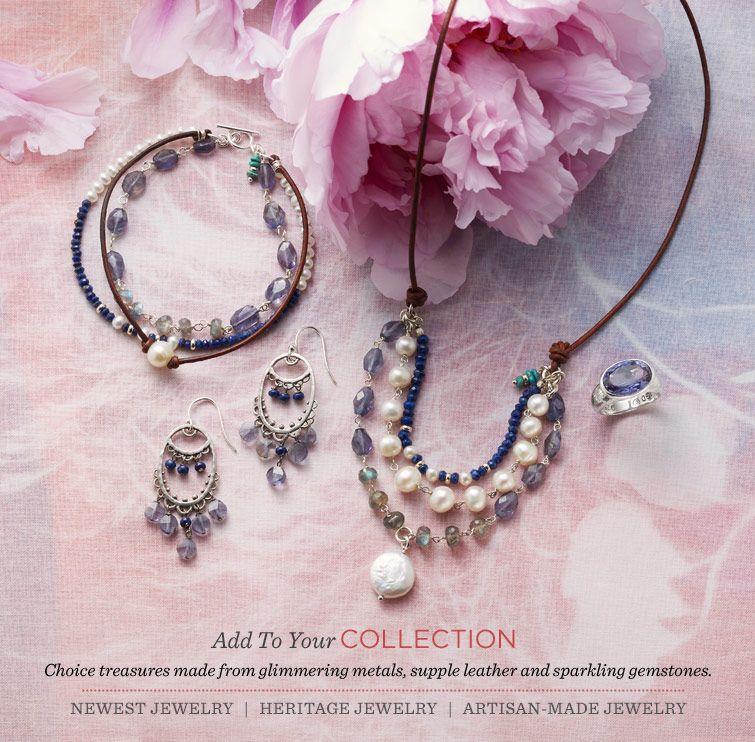 Handmade Jewelry and Unique Jewelry | Robert Redford's Sundance Catalog