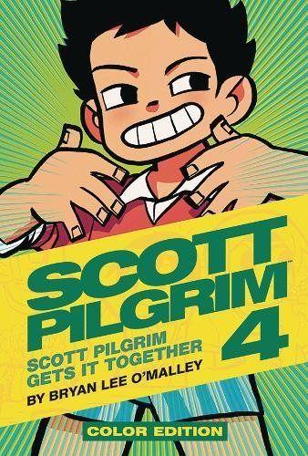 Scott Pilgrim Color Hardcover Volume 4 Scott Pilgrim Gets It Together Scott Pilgrim Bryan Lee O Malley Bryan Lee