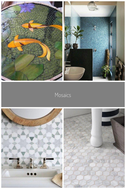 Mosaics Badezimmer Mosaik Diy In 2020 Diy Bathroom Mosaic Things To Come