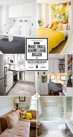 How To Make A Small Room Look Bigger Creative Design Ideas And Tips Home Tree Atlas Small Room Design Small Flat Interior Small Rooms
