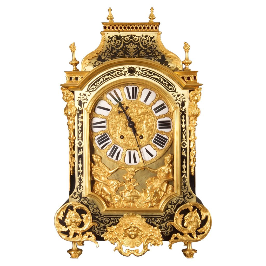 19th Century Third Empire Boulle Mantle Clock France, circa 1870 ...