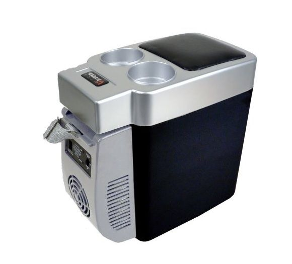 Car fridge warmer portable travel cooler refrigerator Can you put hot food in the refrigerator