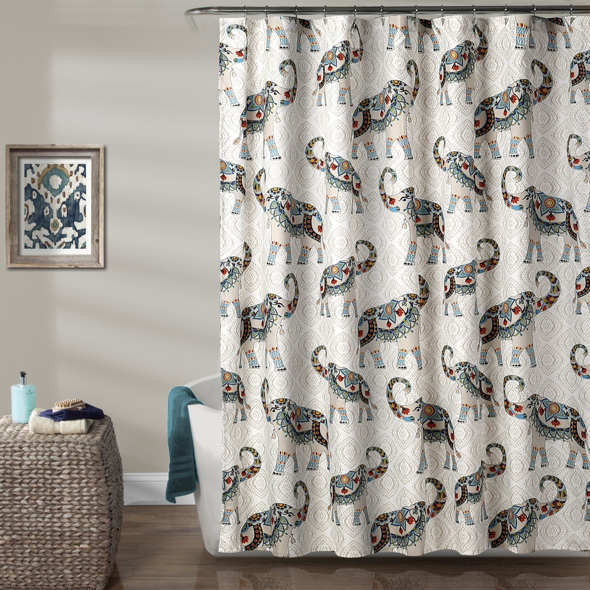 Hati Elephants Shower Curtain Elephant Curtains Jpg 2000x2000 Anthropologies Tender Falls