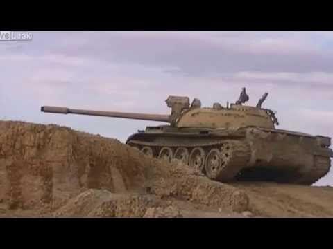 TIRO DE RASPÃO EM TANQUE NA SÍRIA - YouTube