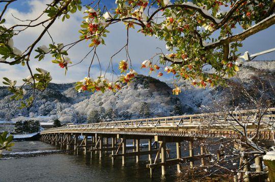 Togetsu-kyo Bridge by noriko1984 on Flickr.