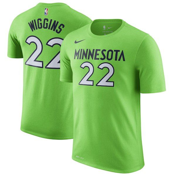 ... closeout andrew wiggins minnesota timberwolves nike name number  statement performance t shirt green minnesotatimberwolves 8df1a 95d5b caf021950