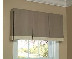 Ready Made Valances Custom Window Valances Innuwindow Simple Window Treatments Box Pleat Valance Custom Window Treatments