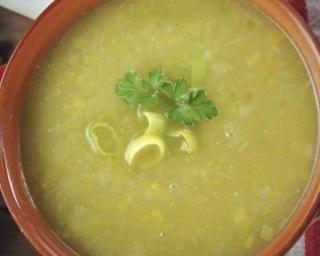 Recette de Soupe de poireaux détoxifiante