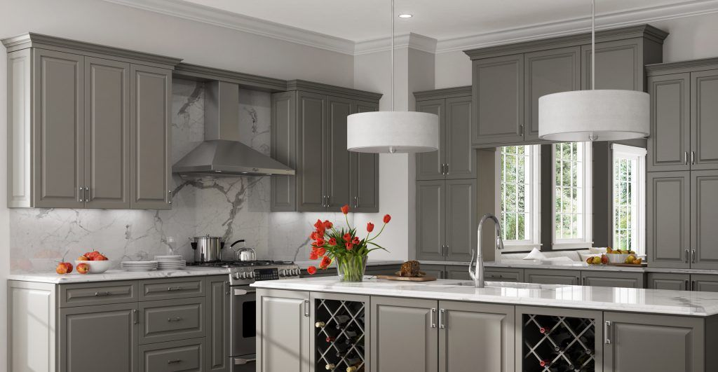 Introducing Dove Gray Paint Rsi Pcs Professional Cabinet Solutions Designer Kitchen Cabinets