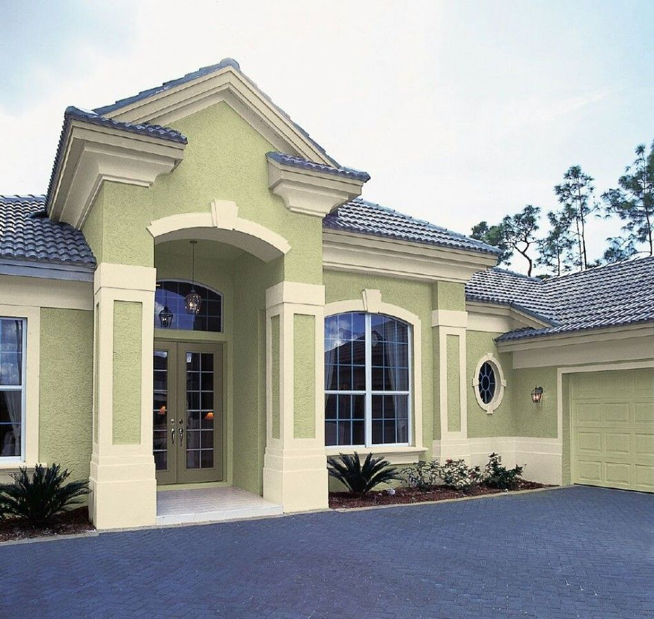 Best Cool Image Of Home Exterior Decoration With Pastel Green 640 x 480
