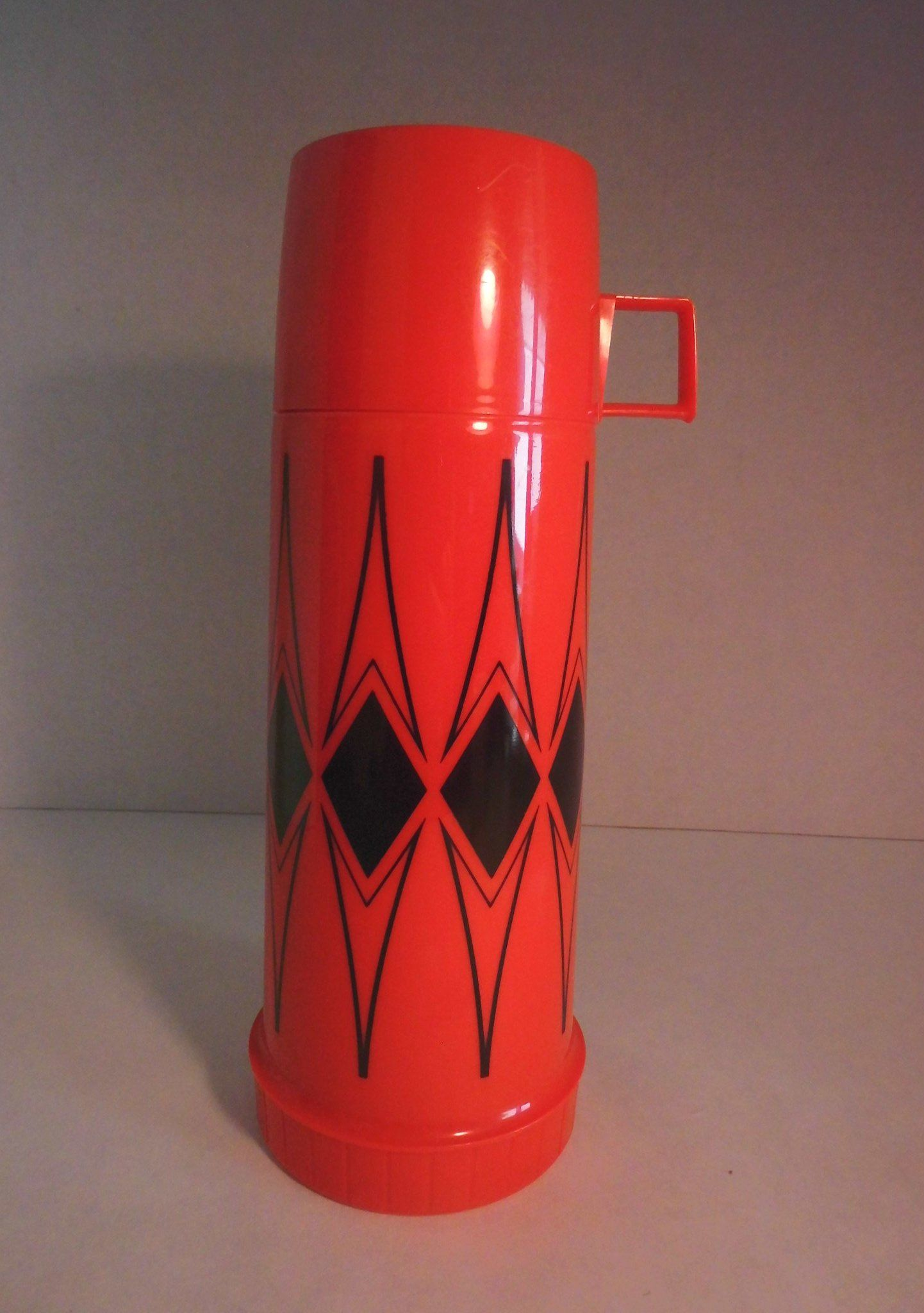 Thermos Brand Set Marked King Seeley Vacuum bottle vintage