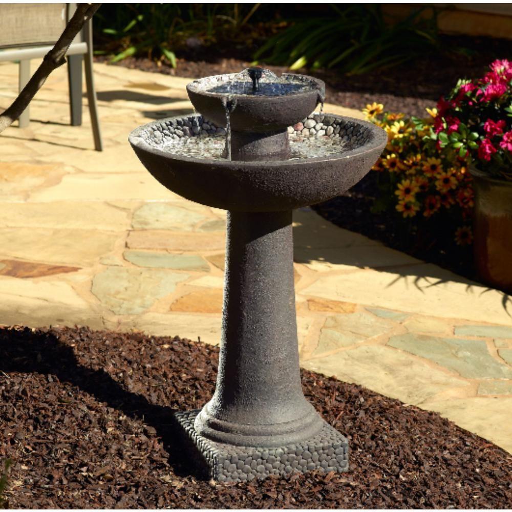 74501b6b45471c11a5fa1acb33ac5bc4 - Smart Solar Gardens 2 Tier Solar On Demand Fountain