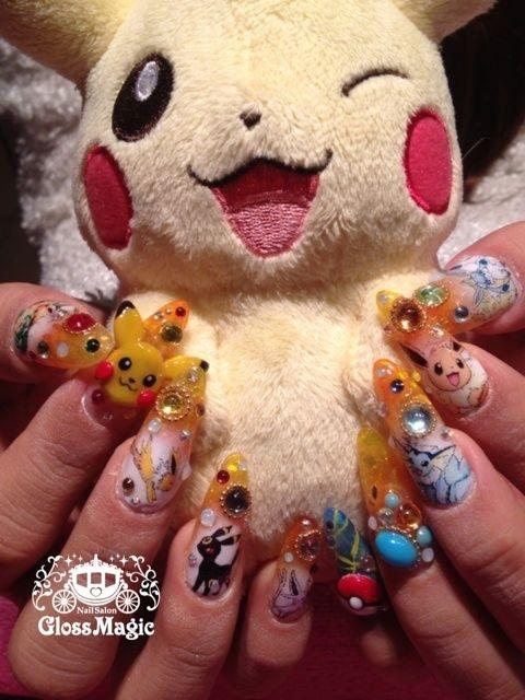 9 Cute Kawaii Nail Art Designs with Pictures   Kawaii nail art ...
