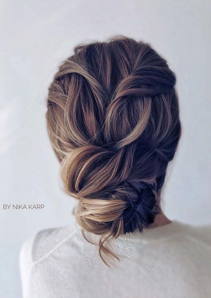 Fabulous chignon hairstyle - wedding updo #hairstyle #hair #updo #weddinghairstyles #weddinghair #weddingupdo #weddinghairstyle #weddinginspiration #bridalupdo