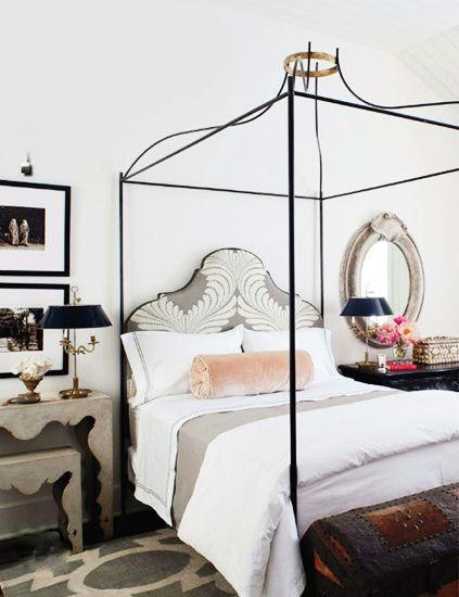 Don T Decorate Your Home Without These 10 Must Know Rules In 2020 Feminine Bedroom Iron Canopy Bed Home Bedroom