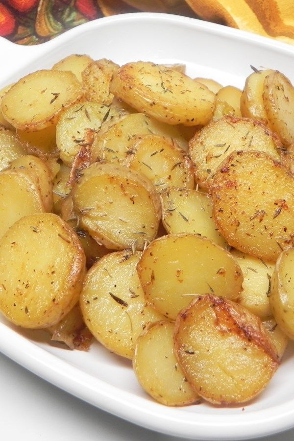 Instant Pot® Garlic Roasted Melting Potatoes #meltingpotrecipes