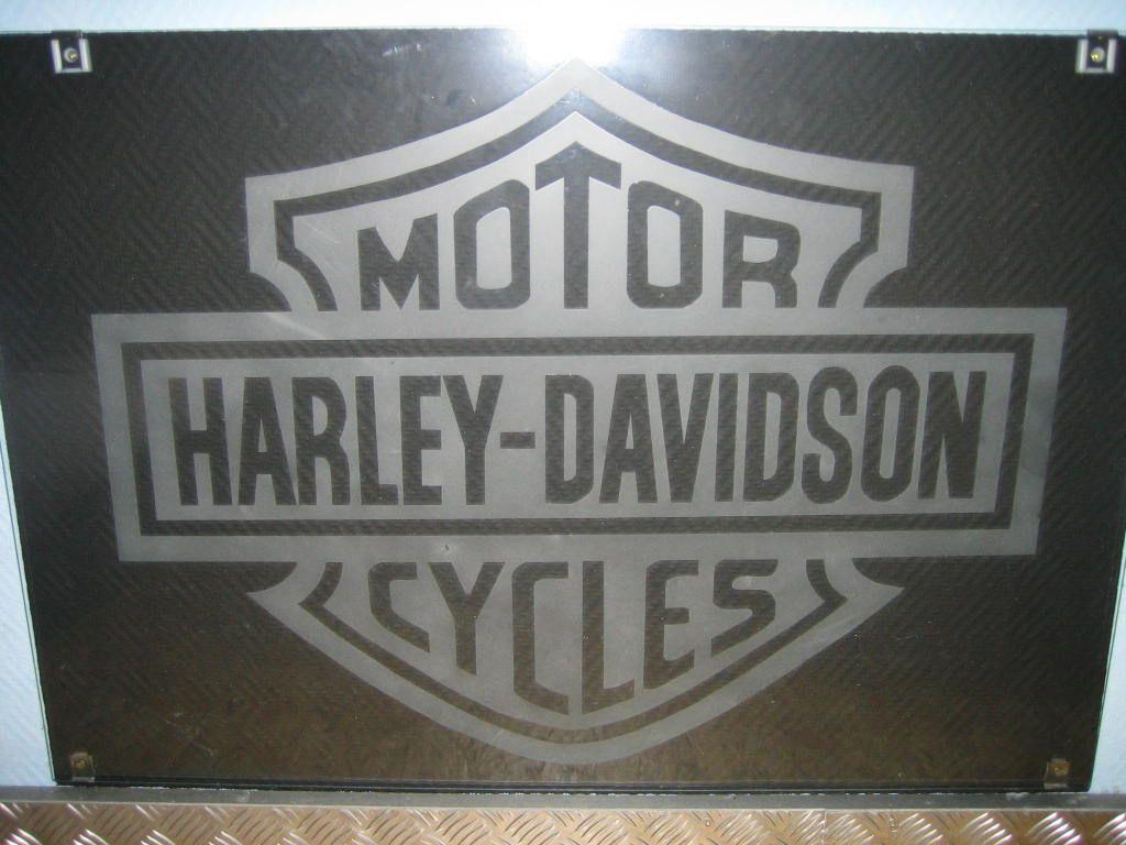 Schön Glasgravur Referenz Von Harley Davidson