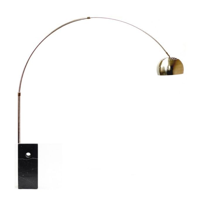Tania Floor Lamp with Cube Base in Black from Instamodern Furniture (www.instamodern.com), $310 (retail price $585.00)