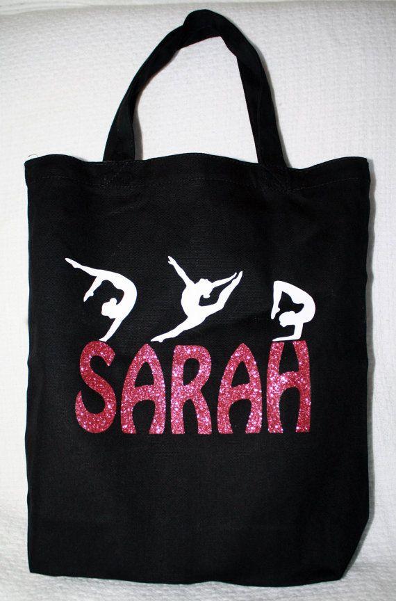 da20007a1390 Gymnastic Bag Personalized Gymnastic bag Gym tote by PearLilly ...
