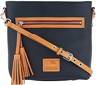 Dooney & Bourke Pebble Leather Crossbody Handbag -Lani