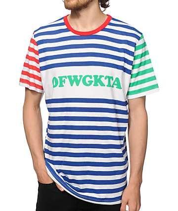 dc203b7117d0 Odd Future OFWGKTA Striped T-Shirt