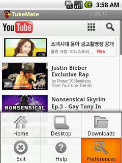 TubeMate YouTube Downloader v1 05 Apps For Blackberry 10