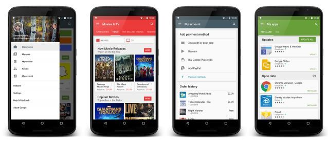 Download And Install Google Play Store v5.1.11 APK Play