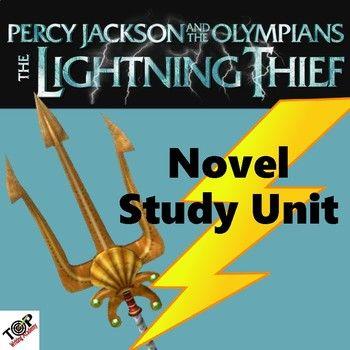Percy Jackson And The Olympians The Lightning Thief Novel Unit