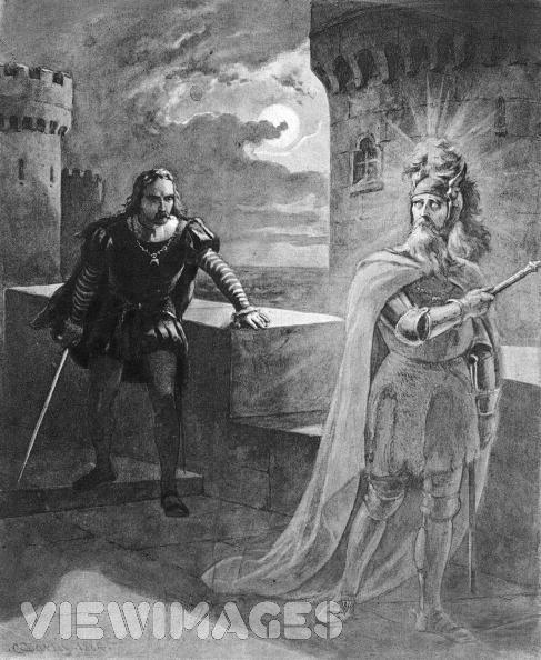 Hamlet and claudius