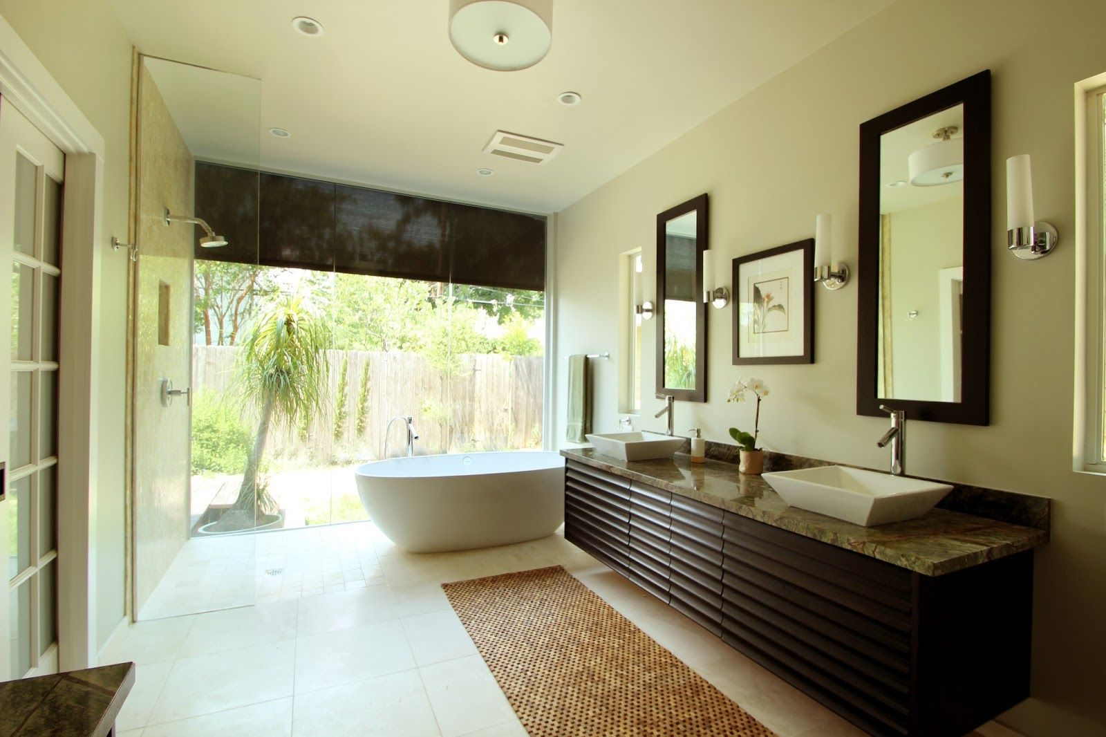 Home ideas for modern master bathroom master baths Beautiful bathrooms and bedrooms magazine