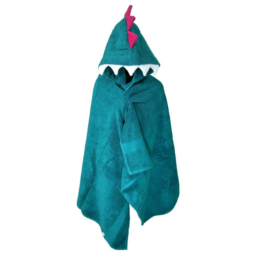 Hooded Dinosaur Towel Kids Monster Bath Towels For Children And