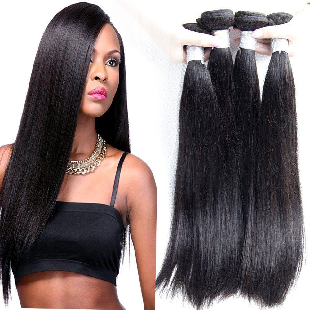 Passion Beauty Hair 7a Brazilian Virgin Straight Hair Weave 3