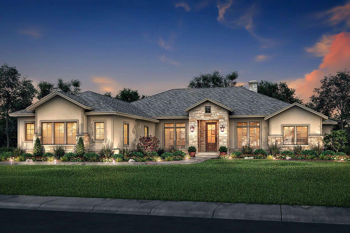 House Plan 04100189 Ranch Plan 3,044 Square Feet, 4